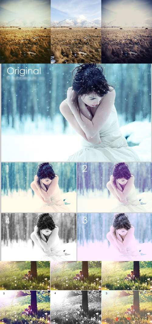 Photoshop Actions 2012 pack 693