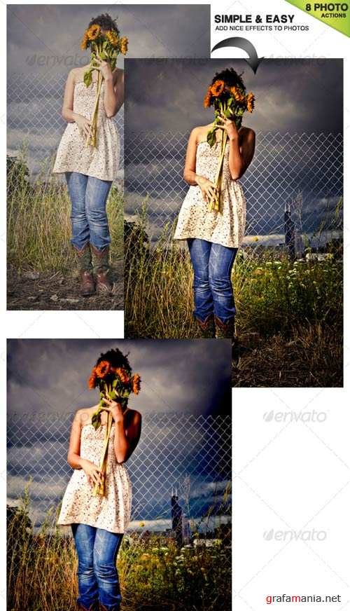 GraphicRiver 6 Photoshop Actions