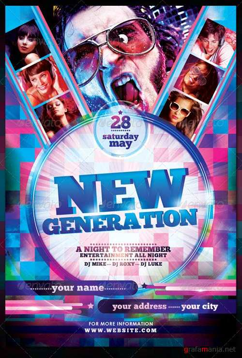 GraphicRiver New Generation Flyer Template