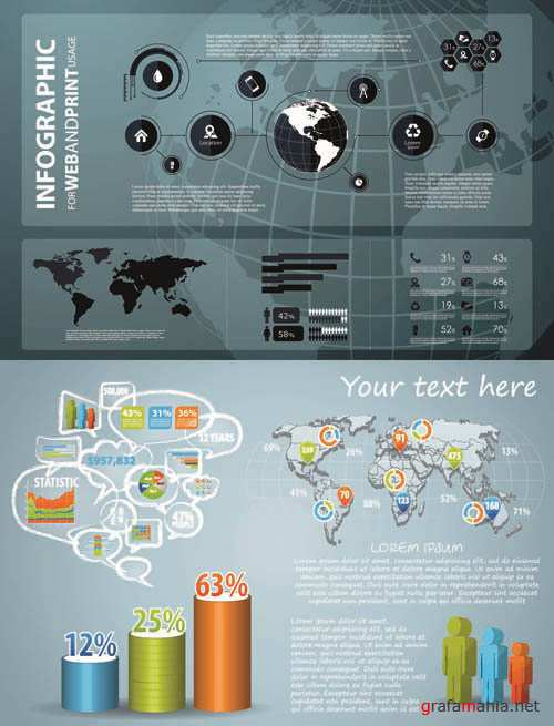 Infographics Vector Pack #230