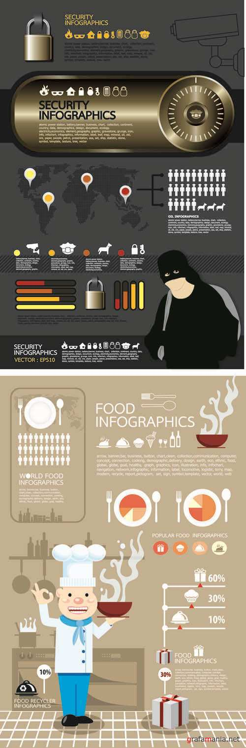 Infographics Vector Pack #260
