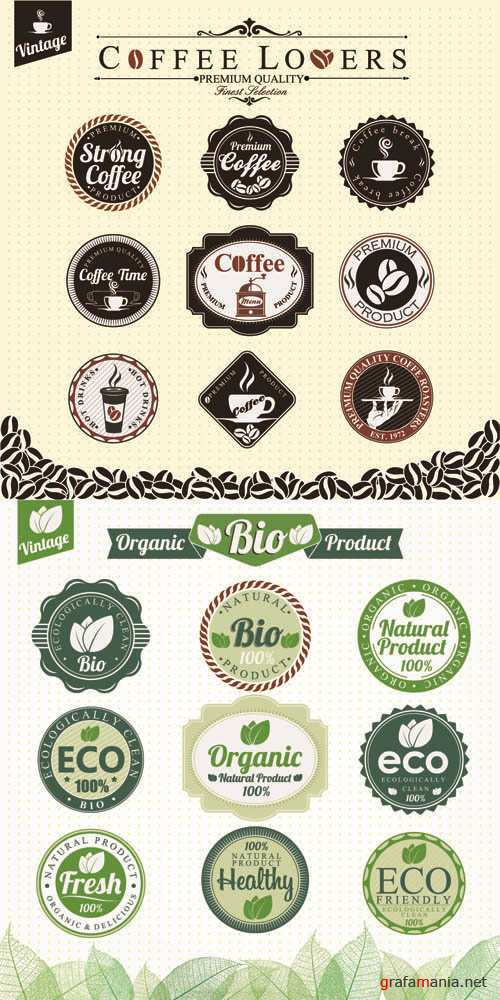 Labels Vector Collection #205