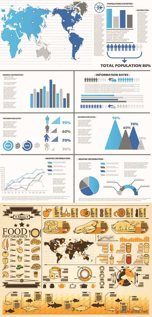 Infographics Vector Pack #262
