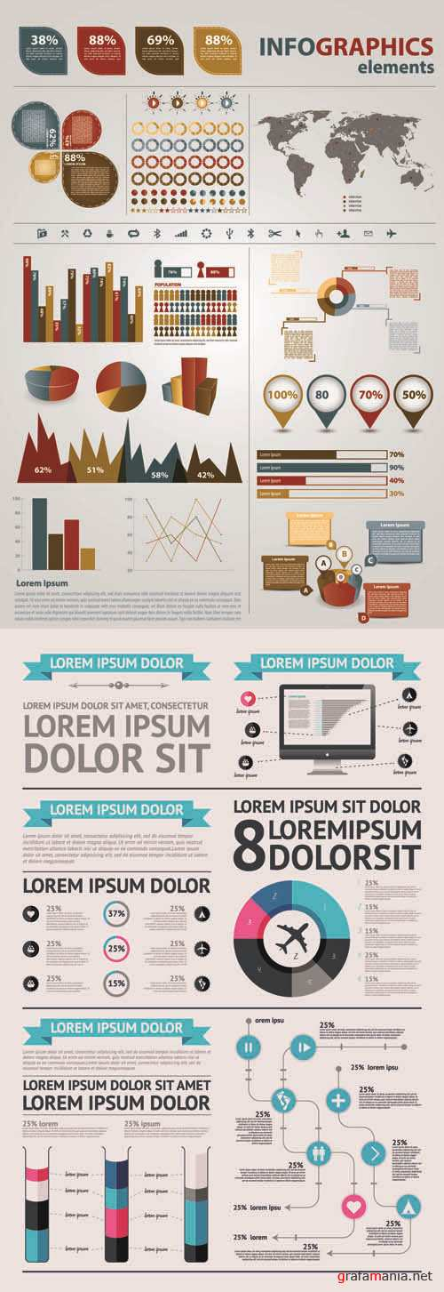 Infographics Vector Pack #261
