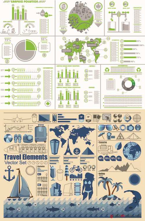 Infographics Vector Pack #26