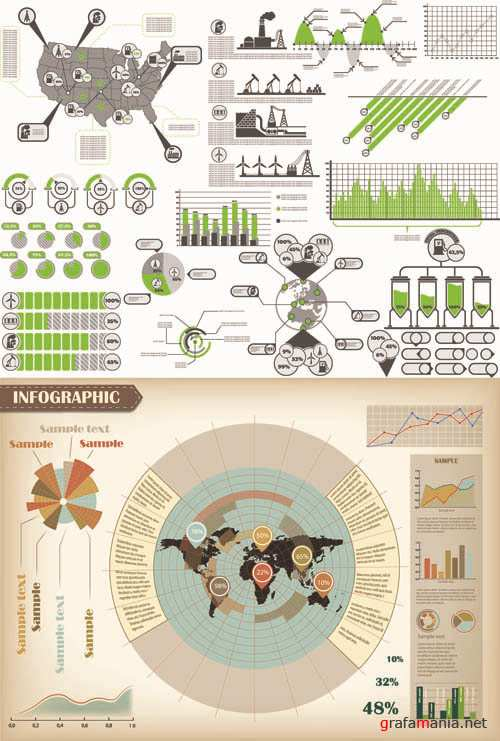 Infographics Vector Pack #266