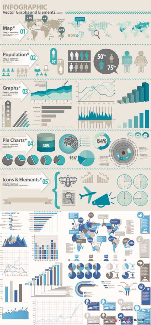 Infographics Vector Pack #269
