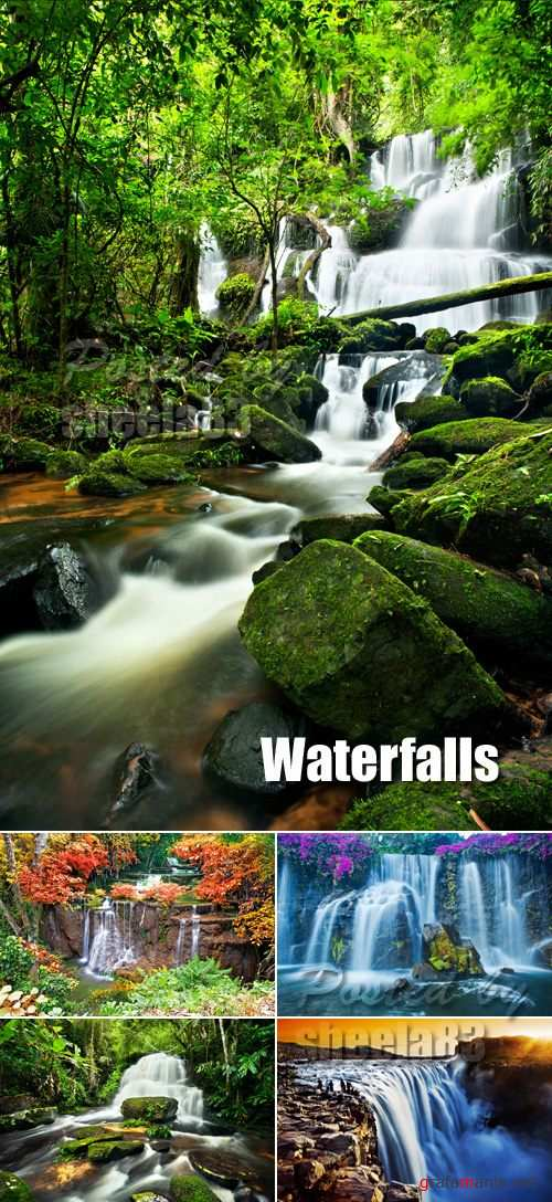 Stock Photo - Waterfalls