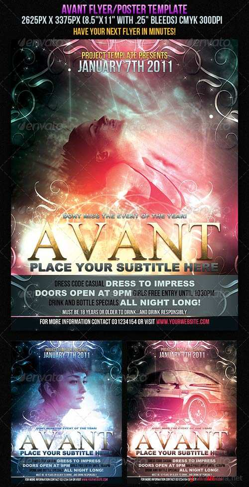 GraphicRiver Avant Flyer/Poster