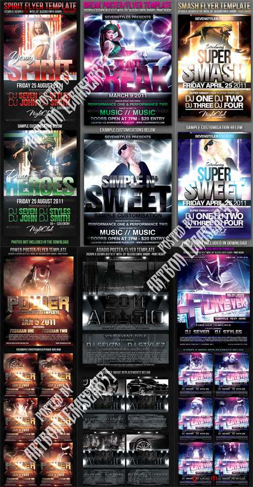 GraphicRiver Flyers Templates Pack 13 - REUPLOAD