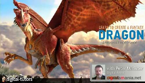 Creating a Fantasy Dragon in ZBrush