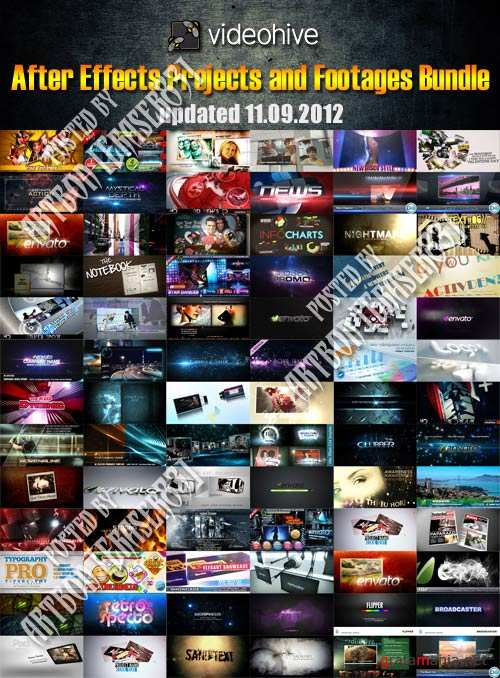 Videohive Mega Bundle Collection (updated 11.09.2012)