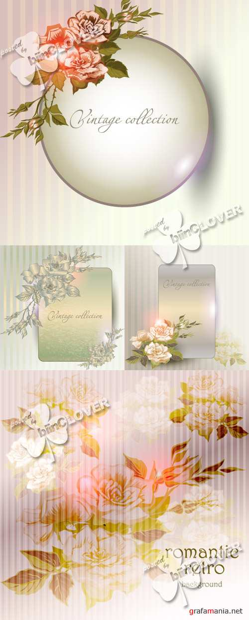 Abstract floral background 0253