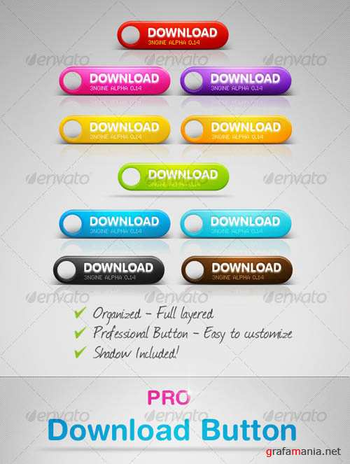 GraphicRiver Sexy Download Buttons
