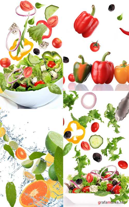 Stock Photo - Vegetable and Fruit Salad #3