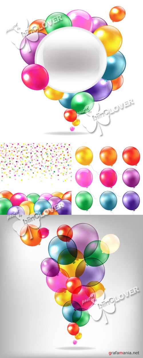 Balloons background 0261