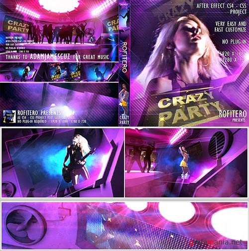 Crazy Party - Projects for After Effects (VideoHive)