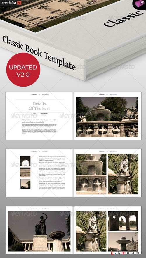 GraphicRiver Classic Book Template - 18 pages