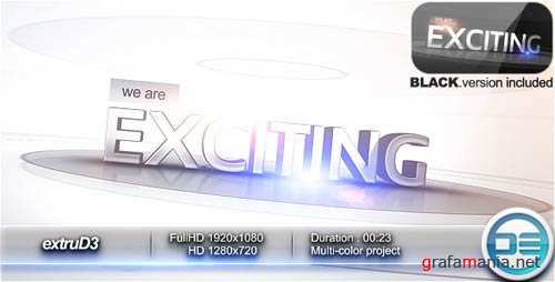 extruD3 - Project for After Effects (VideoHive)