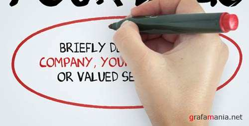 Whiteboard Write - Projects for After Effects (VideoHive)