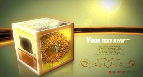 Rolling Cubes After Effects Project (VideoHive)
