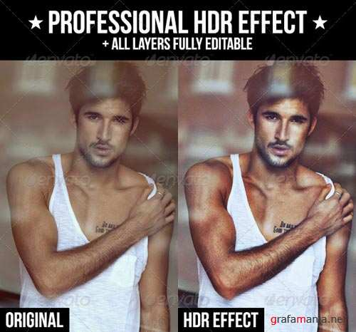 GraphicRiver Professional HDR Effect