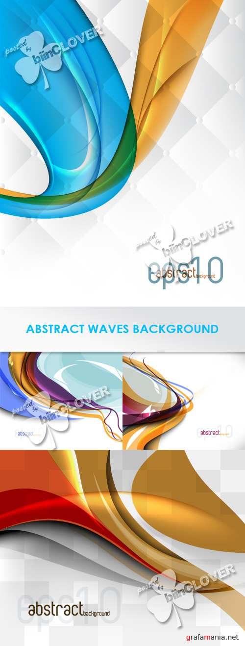 Abstract waves background 0266