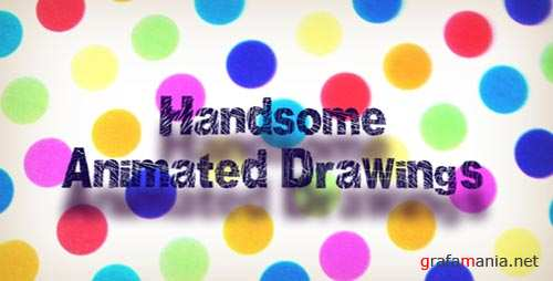 HANDSOME ANIMATED DRAWINGS - Project for After Effects (VideoHive)