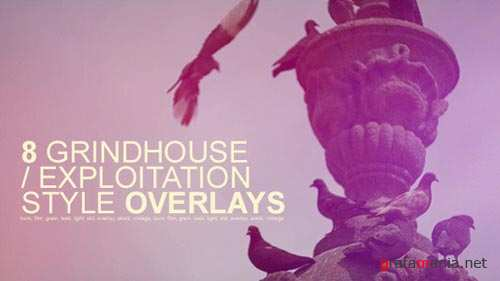 Grindhouse Film Style Overlays - Motion Graphics (VideoHive)