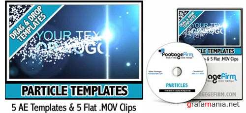 Footage Firm - Particle After Effects Templates