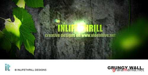 Grungy Wall - Project for After Effects (VideoHive)