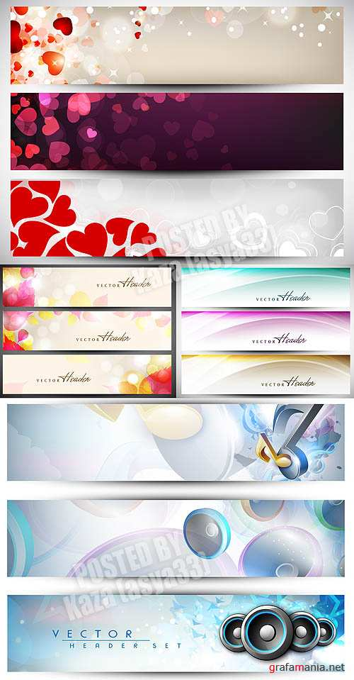 Abstract banners 6