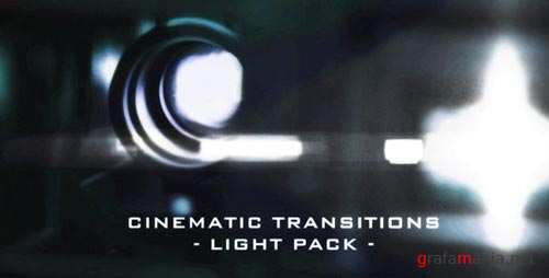 Cinematic Light Transitions - 11 Pack - Motion Graphics (VideoHive)