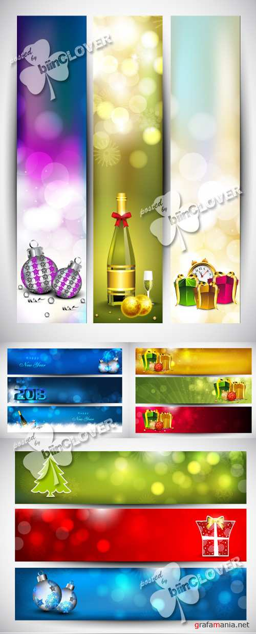 Merry Christmas banners 0276