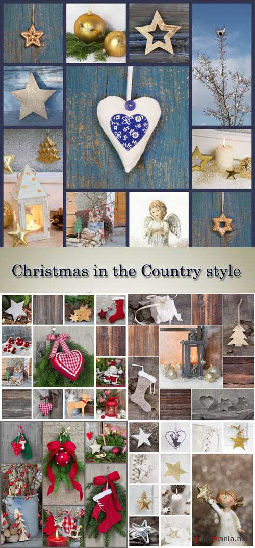 Stock Photo: Christmas in the Country style