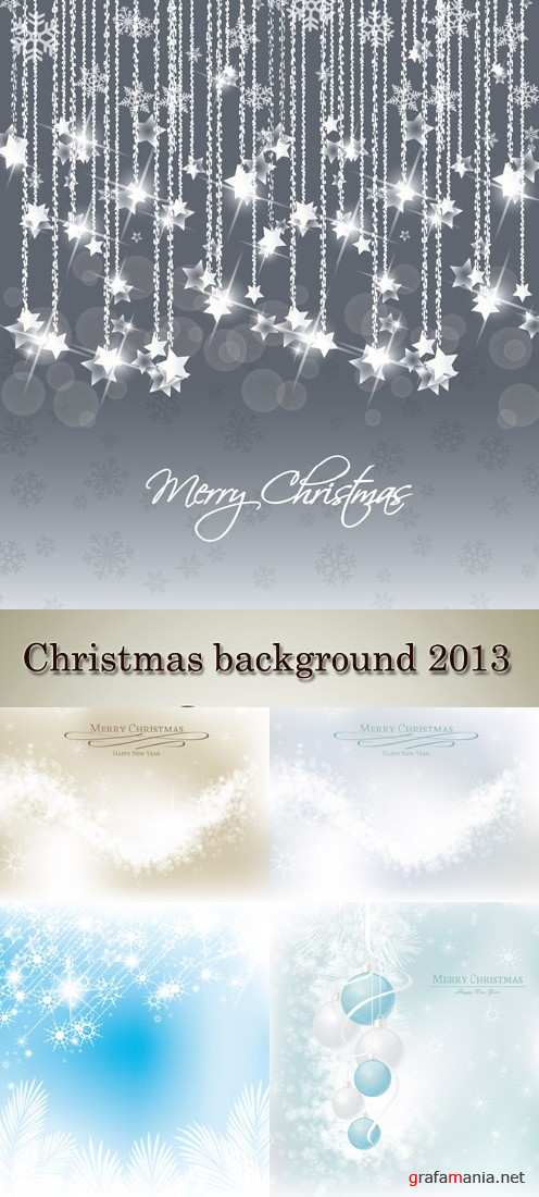 Stock: Christmas background 2013 (part2)