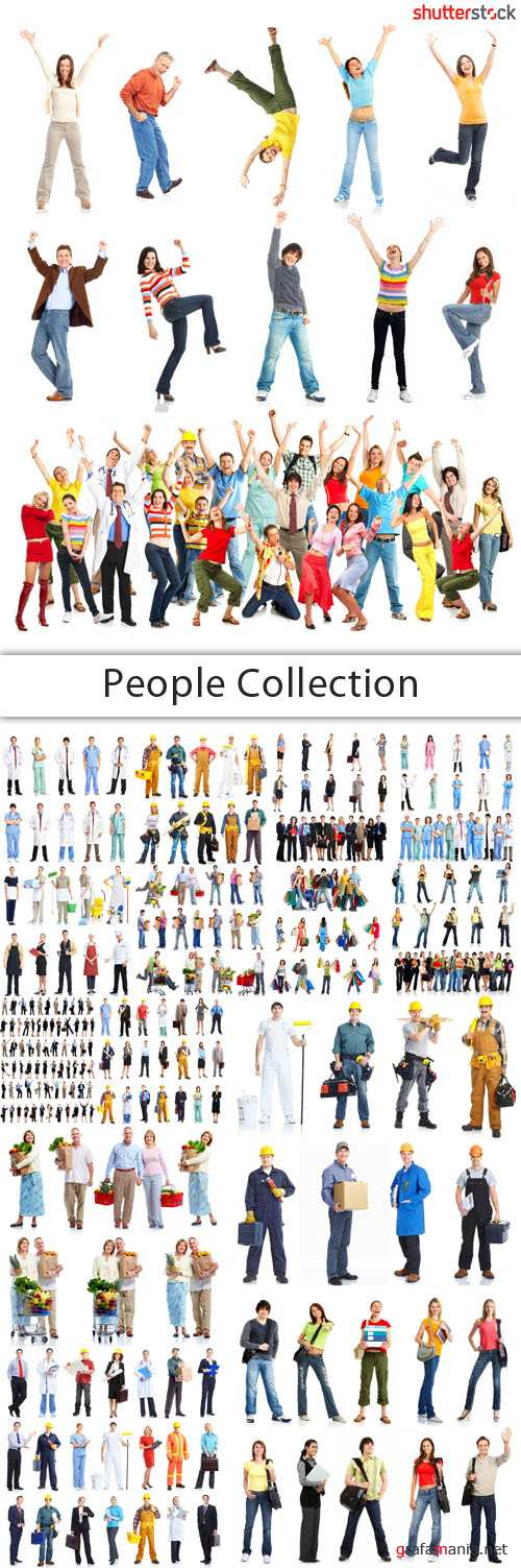 People Collection - 25 HQ JPEG Stock Photo