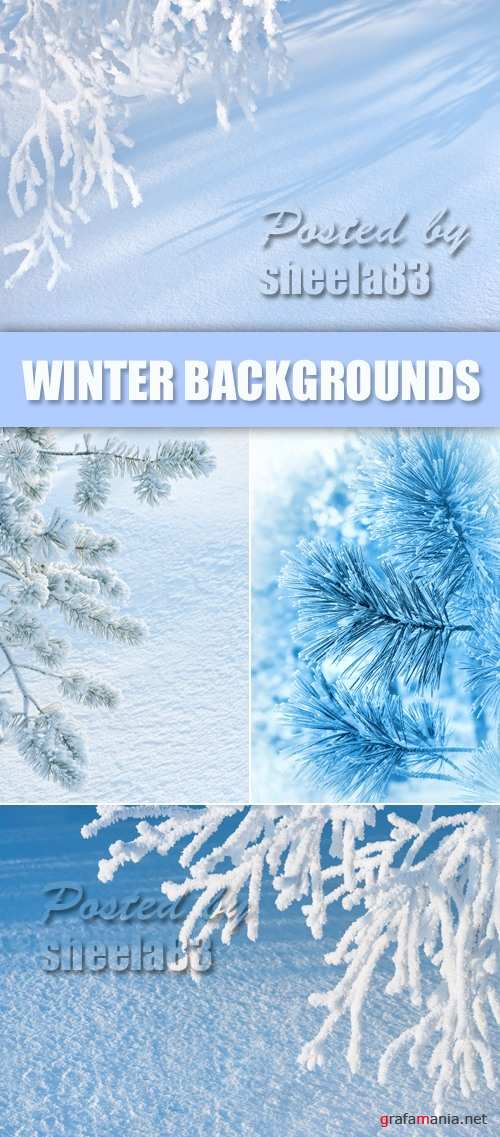 Stock Photo - Winter Backgrounds