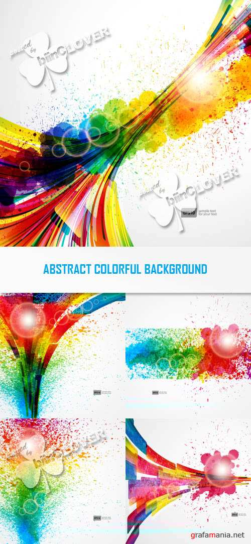 Abstract colorful background 0288