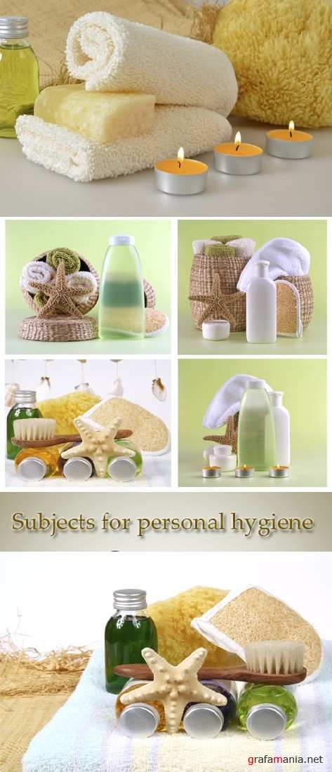 Stock Photo: Subjects for personal hygiene. Spa and aromatherapy