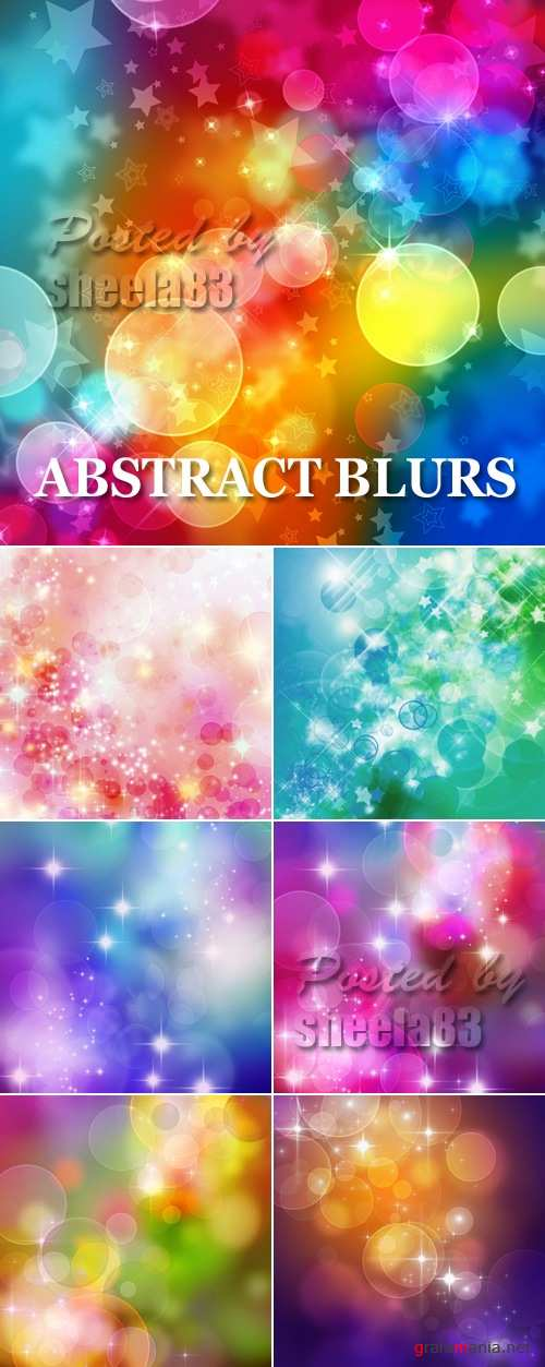 Stock Photo - Abstract Blurs Backgrounds
