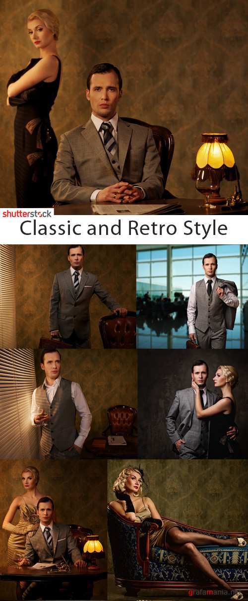 Classic and Retro Style - 25 HQ JPEG Stock Photo
