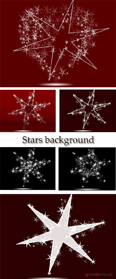Stock: Stars background 2013