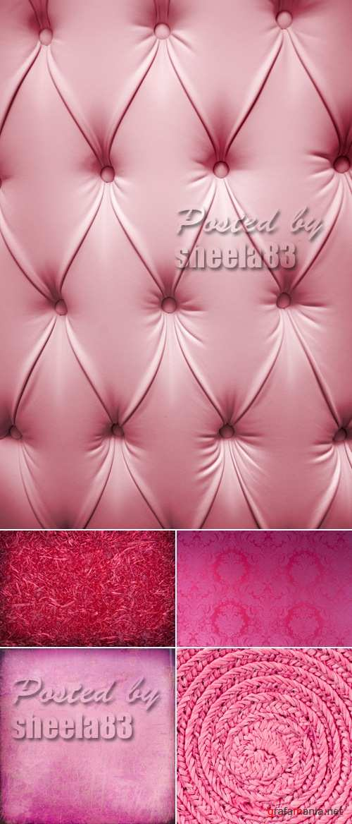 Stock Photo - Pink Backgrounds