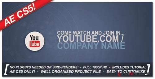 Corporate Social Network Ident - Project for After Effects (VideoHive)