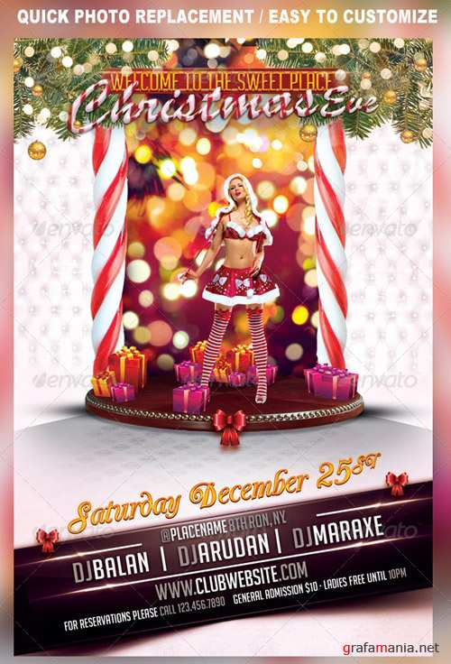GraphicRiver Christmas Eve Party Flyer Template
