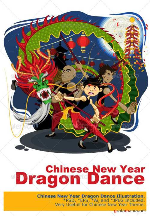 GraphicRiver - Chinese New Year Dragon Dance 2834615