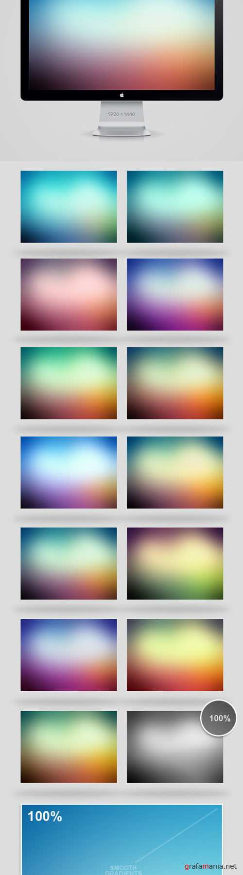 15 Soft Backgrounds Pack