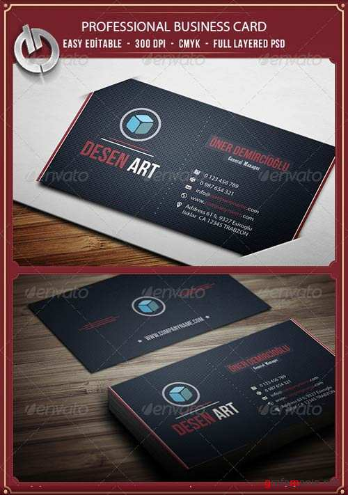 GraphicRiver Business Card 17