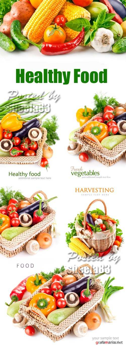 Stock Photo - Healthy Food